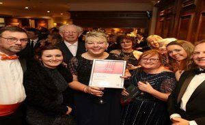 Winner of Regional Tourism Award celebrate in style!